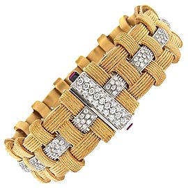 Roberto Coin Diamond 18K Rose Gold Bracelet