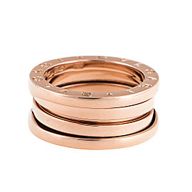 Bulgari Rose Gold 3 Band