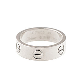 Cartier Love Ring 18k White Gold Size 49