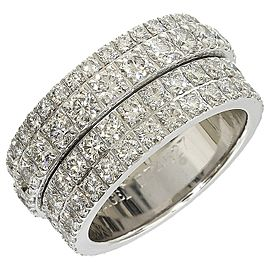Piaget 18k White Gold Ring US Size 5.25