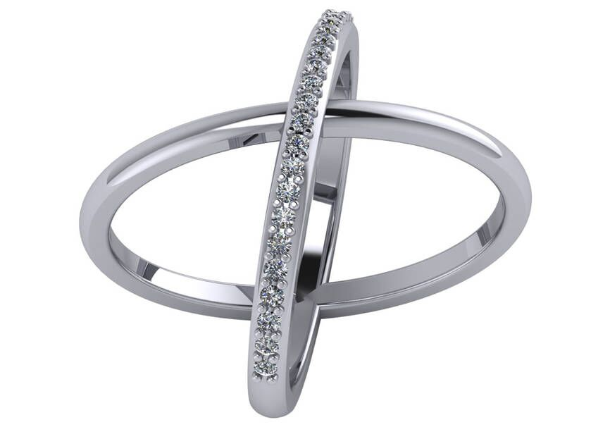 "Image of ""Criss Cross Ring"""