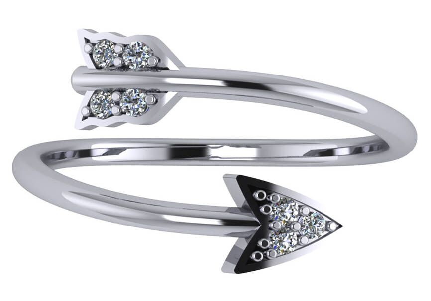 """Image of """"Arrow Ring"""""""