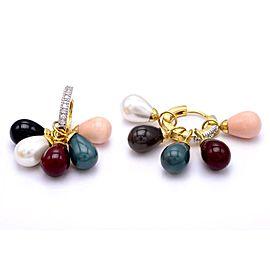 Sumangla Alloy Crystal Dangle Earrings