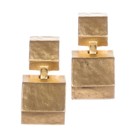 Kenneth Lane Cubist Dangle Earrings