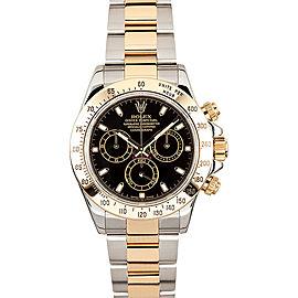 Rolex Yellow Gold Daytona 116523 Black Watch