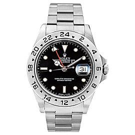 Rolex Explorer II 16570 Black Watch