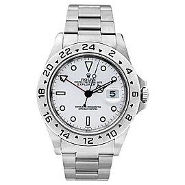 Rolex Explorer II 16570 White Watch