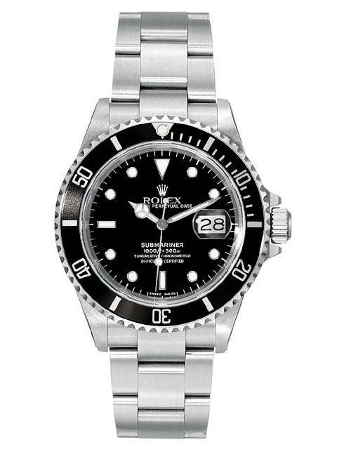 """Image of """"Rolex Submariner Steel 16610 Watch"""""""