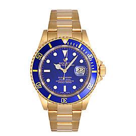 Rolex Submariner Blue 16618 Watch