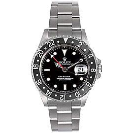 Rolex GMT-Master II Black 16710 Watch