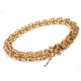 Tiffany & Co. 14K Yellow Gold Charm Link Bracelet