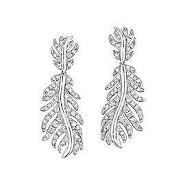 18K Gold Phoenix Medium Pave Earrings