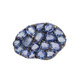 Rina Limor Abstract Sapphire Ring