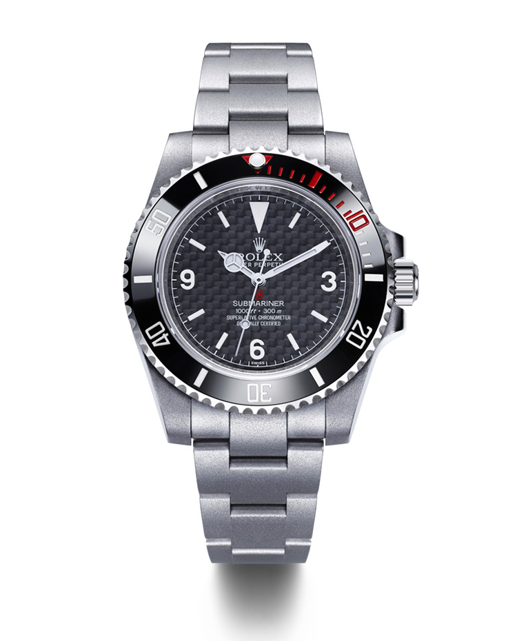 "Image of ""Rough-Matt Carbon Carbon Fiber Dial Watch"""