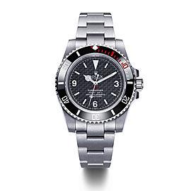 Rough-Matt Carbon Carbon Fiber Dial Watch