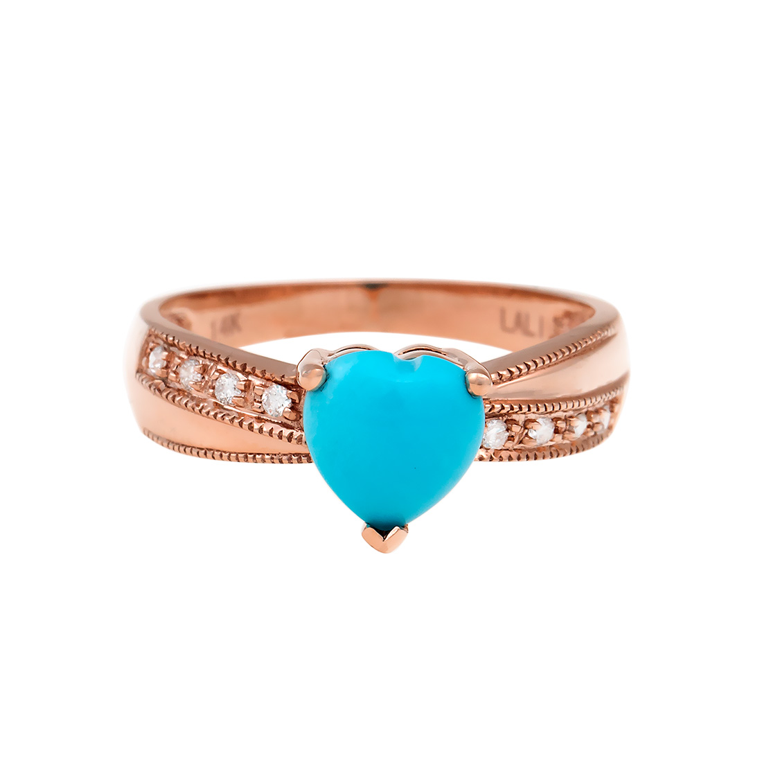 "Image of ""14k Turquoise Ring"""