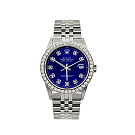 Rolex Datejust Diamond Watch 36mm