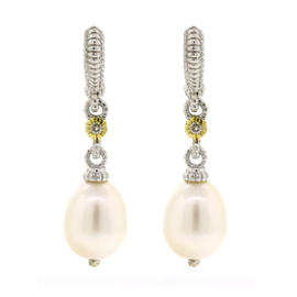 French Wire Freshwater Pearl Earring