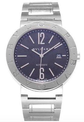 "Image of ""Bulgari Bb42Ssauto Stainless Steel 42mm Watch"""