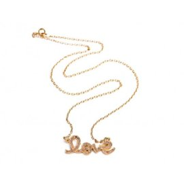 18k Rose Gold and Brown Diamonds Necklace