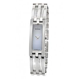 Movado 84 H5 1400 Esperenza Mother Of Pearl Dial Stainless Steel Womens Watch