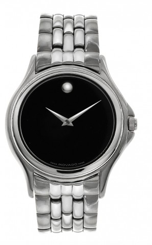 "Image of ""Movado 84 E4 0863 Museum Stainless Steel Mens Watch"""
