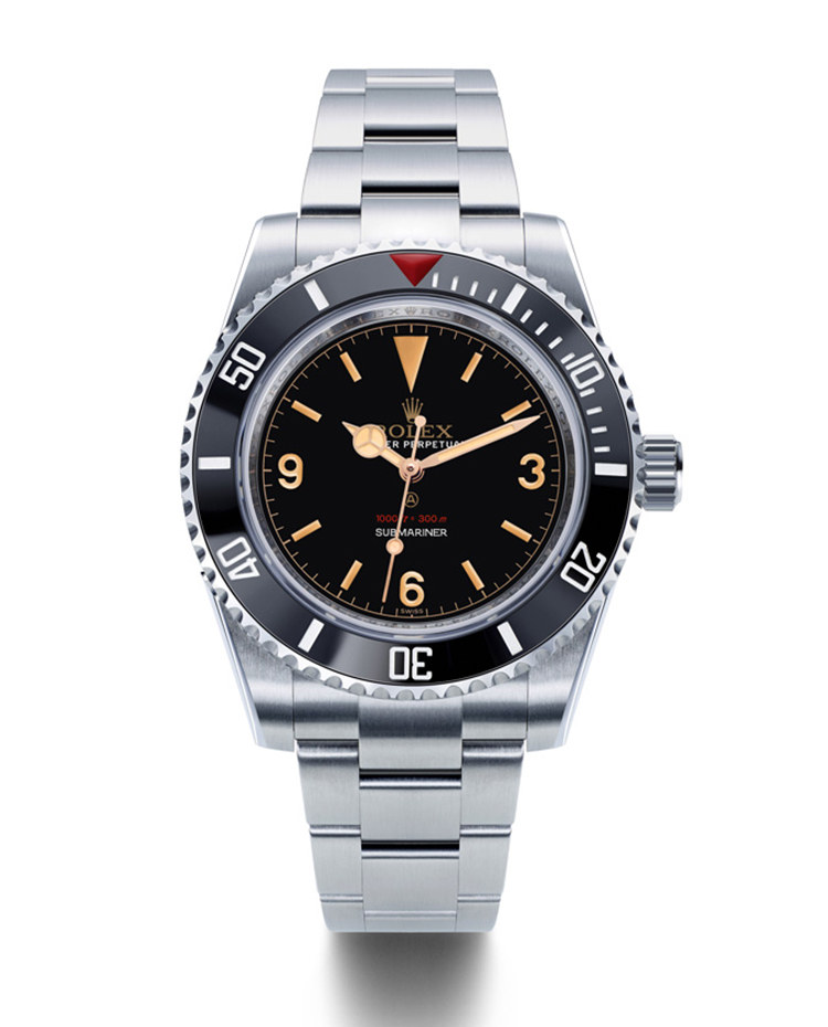"""Image of """"Tribute to 5513 Black Lacquered Dial Watch"""""""