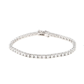 Tara 18k White Gold and 4.55ct Diamond Bracelet