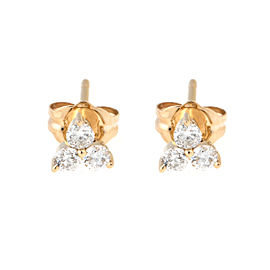 Tara 14k Yellow Gold and 0.30ct Diamond Earrings