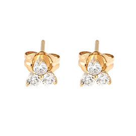 Tara 14k Yellow Gold and 0.30ct HI/SI3-I1 Diamond Earrings