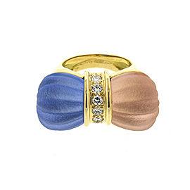 18k Chopard Diamond Triangle Y-drop Necklace