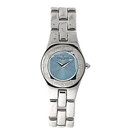 Baume & Mercier Stainless Steel Mother Of Pearl Womens Watch