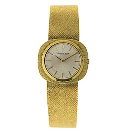 Jaeger-LeCoultre JLC1 18K Yellow Gold Vintage Mens Watch