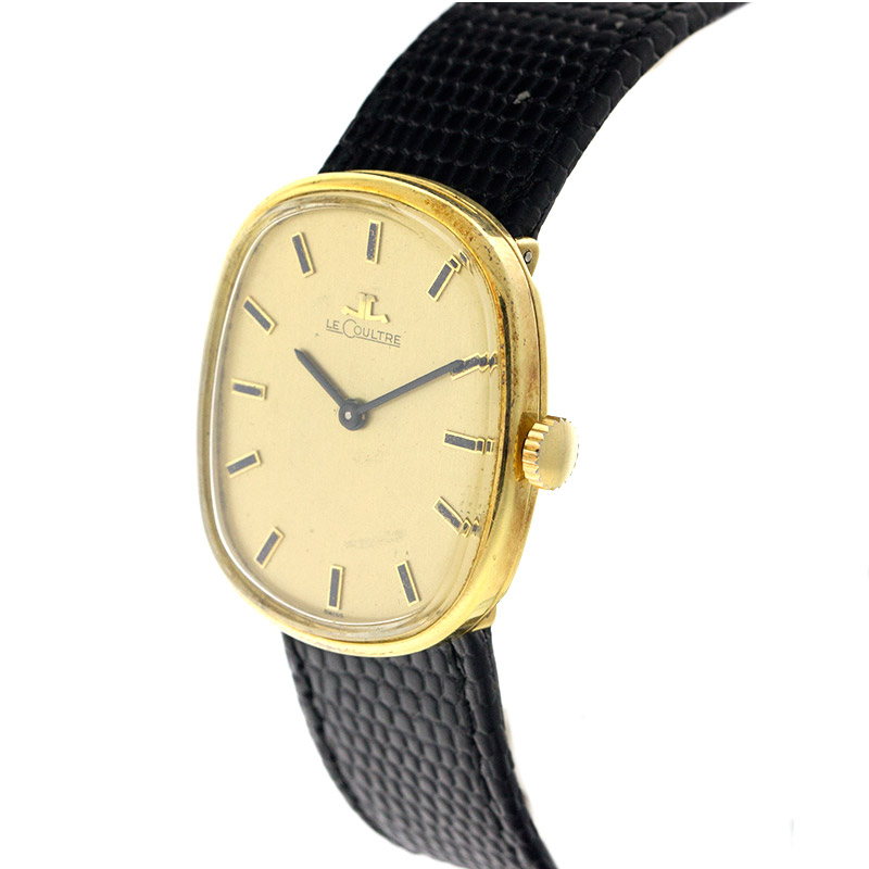 "Image of ""LeCoultre 18K Yellow Gold Vintage Watch"""