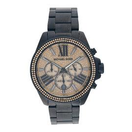 Michael Kors MK5961 Black Stainless Steel Chronograph 42mm Womens Watch