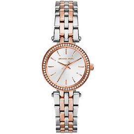 Petite Darci Silver And Rose Gold-Tone Stainless Steel