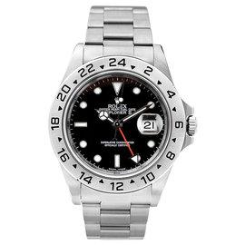 Rolex Explorer II 16570 Black Mens Watch