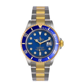 Rolex Submariner 16613 LD Two Tone wDiamond Mens Watch