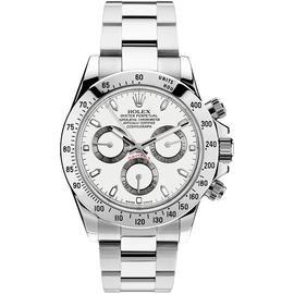 Rolex Daytona 116520 Steel White Mens Watch