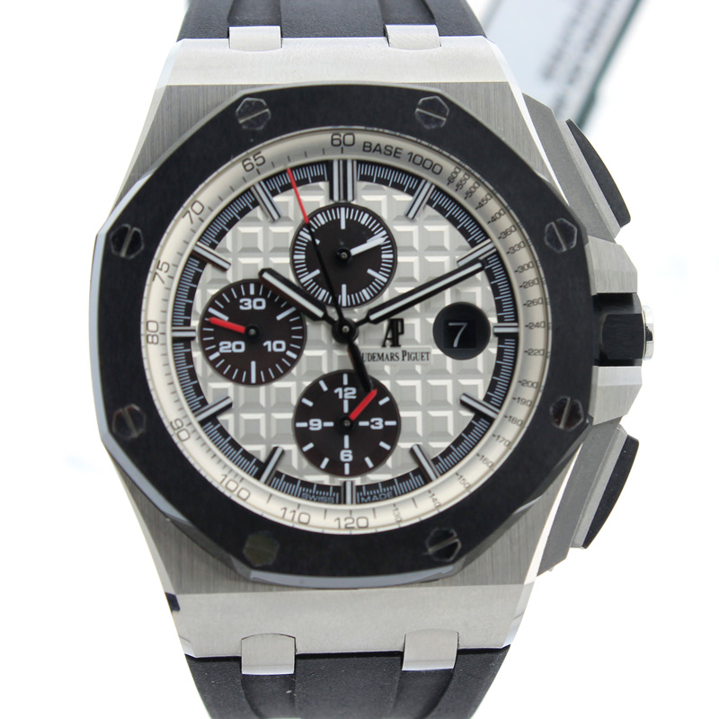 "Image of ""Audemars Piguet Royal Oak OffshoreStainless Steel Ceramic Watch"""
