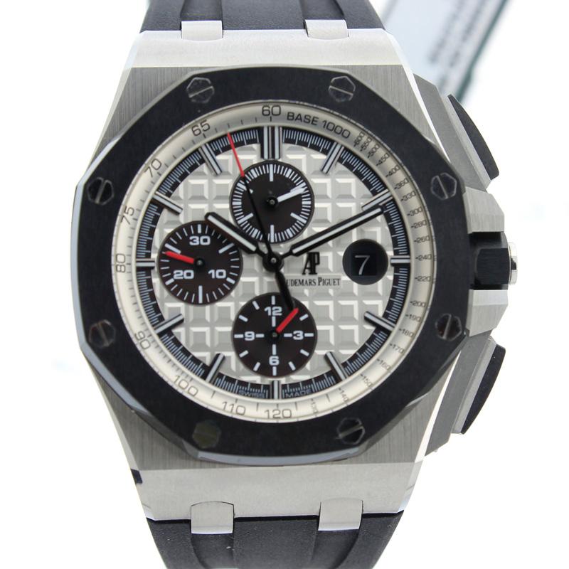 "Image of ""Audemars Piguet Royal Oak OffshoreStainless Steel Ceramic Watch"""