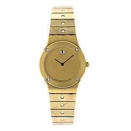 Zenith Z1 Stainless Steel Gold Tone Quartz Womens Watch
