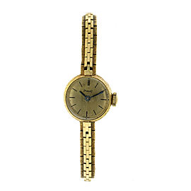 Piaget PGT7 18K Yellow Gold Vintage Womens Watch