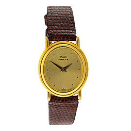 Piaget 18K Yellow Gold Vinatge Womens Watch