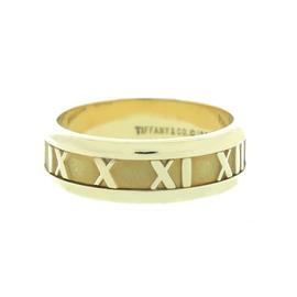 Tiffany & Co. 18K Yellow Gold Atlas Band Ring