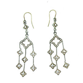 David Yurman Sterling Silver Chandelier Earrings