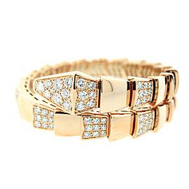 Bulgari Serpenti 18kt Pink Gold Bracelet