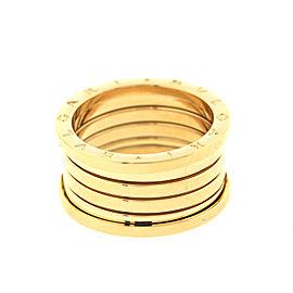 Bulgari Men's Yellow Gold 5 Band Ring Size 55