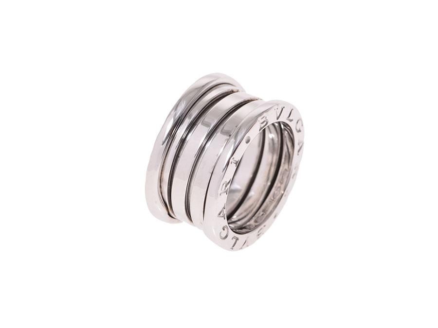 "Image of ""Bulgari 18K White Gold B-Zero Ring Size 3.75"""