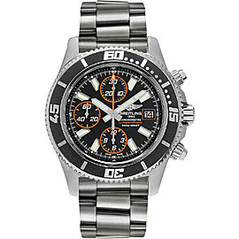 Breitling Superocean Chronograph II A1334102-BA85SS Stainless Steel 44mm Mens Watch